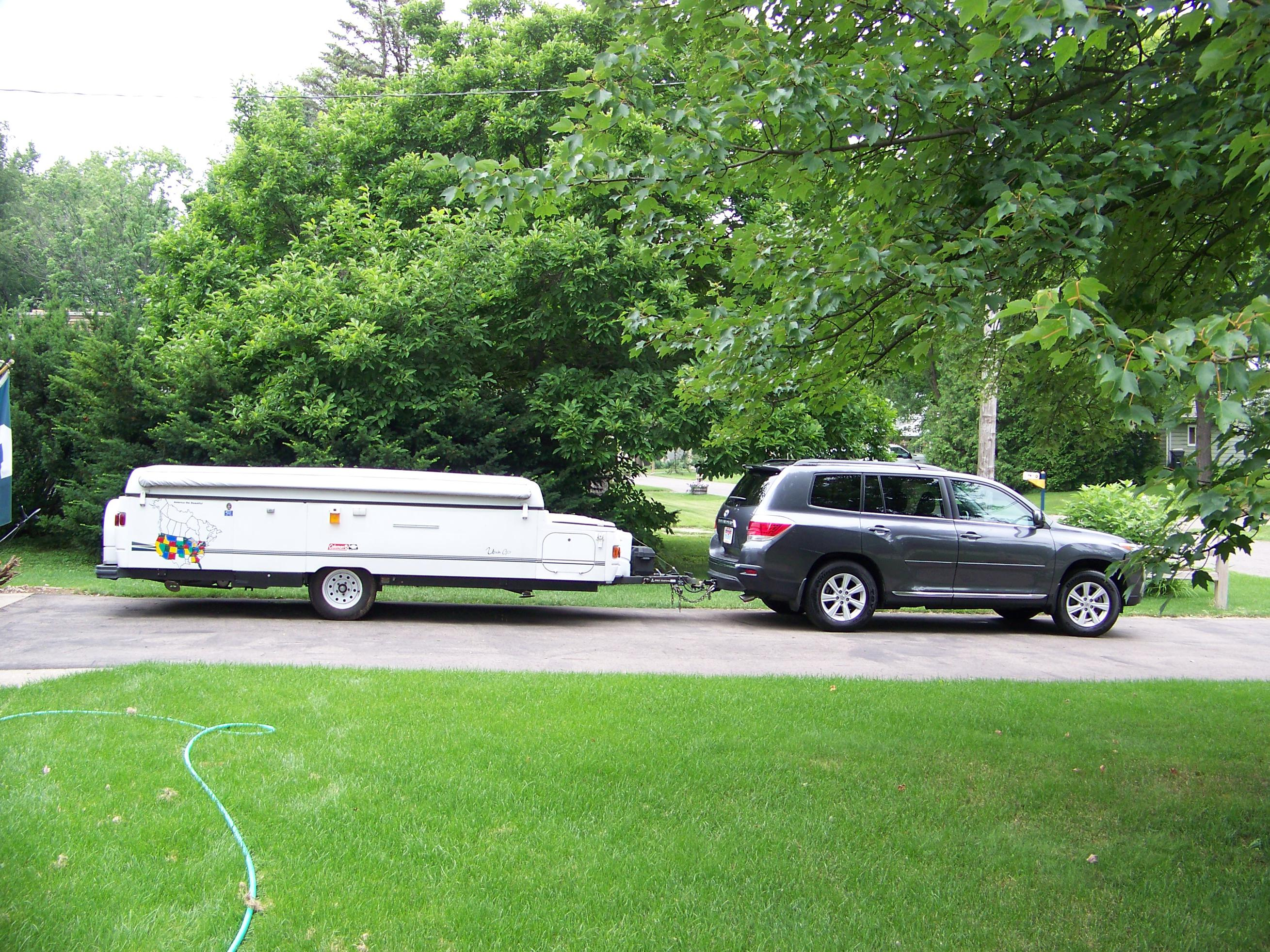 Towing Report 2014 Hl Limited With 4000 Lb Fleetwood Popup Reece Wiring Harness Toyota Click Image For Larger Version Name 004 Views 1620 Size 105