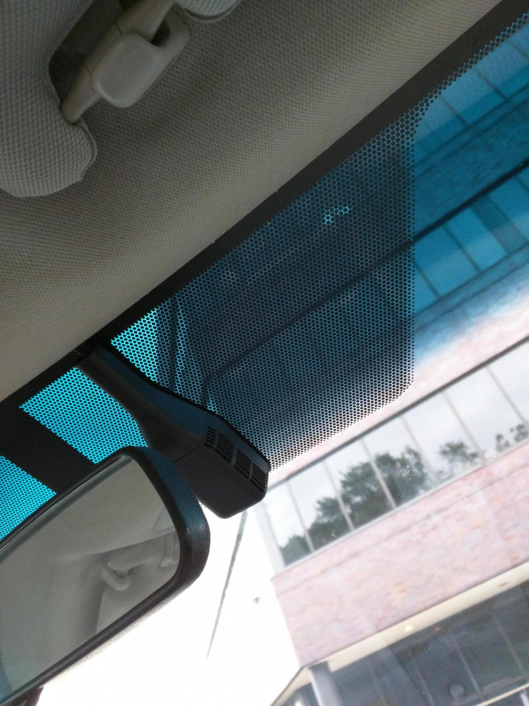 2017 Dodge Charger >> What is the sensor looking device to the right of the rearview mirror. (2012 Camry LE - Toyota ...