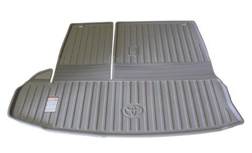 Grey 2014-2019 WeatherTech Cargo Liner Trunk Mat for Acura MDX Behind 3rd Row