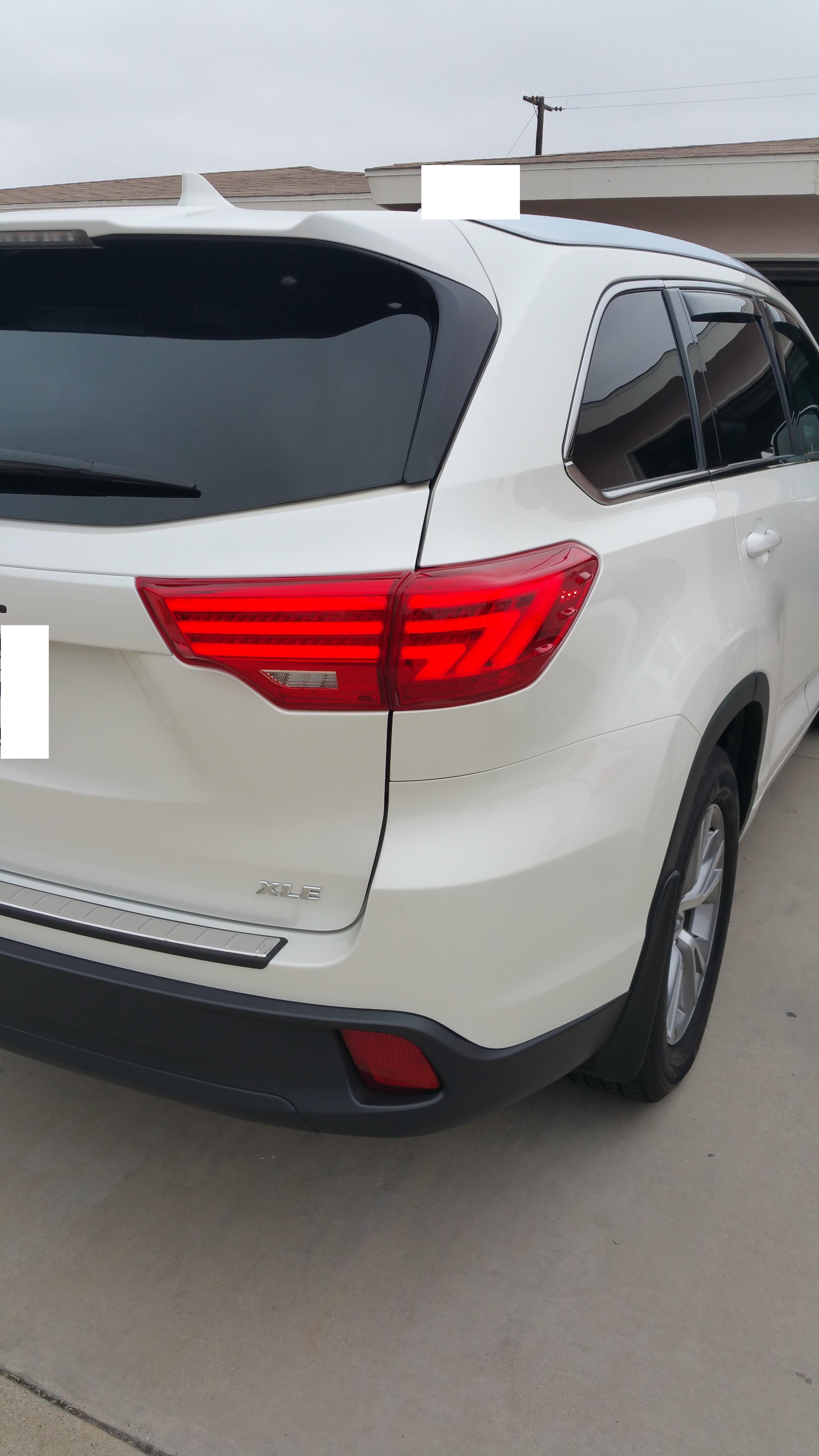 Ebay Led Tail Lights Installed 2015 White Xle Toyota
