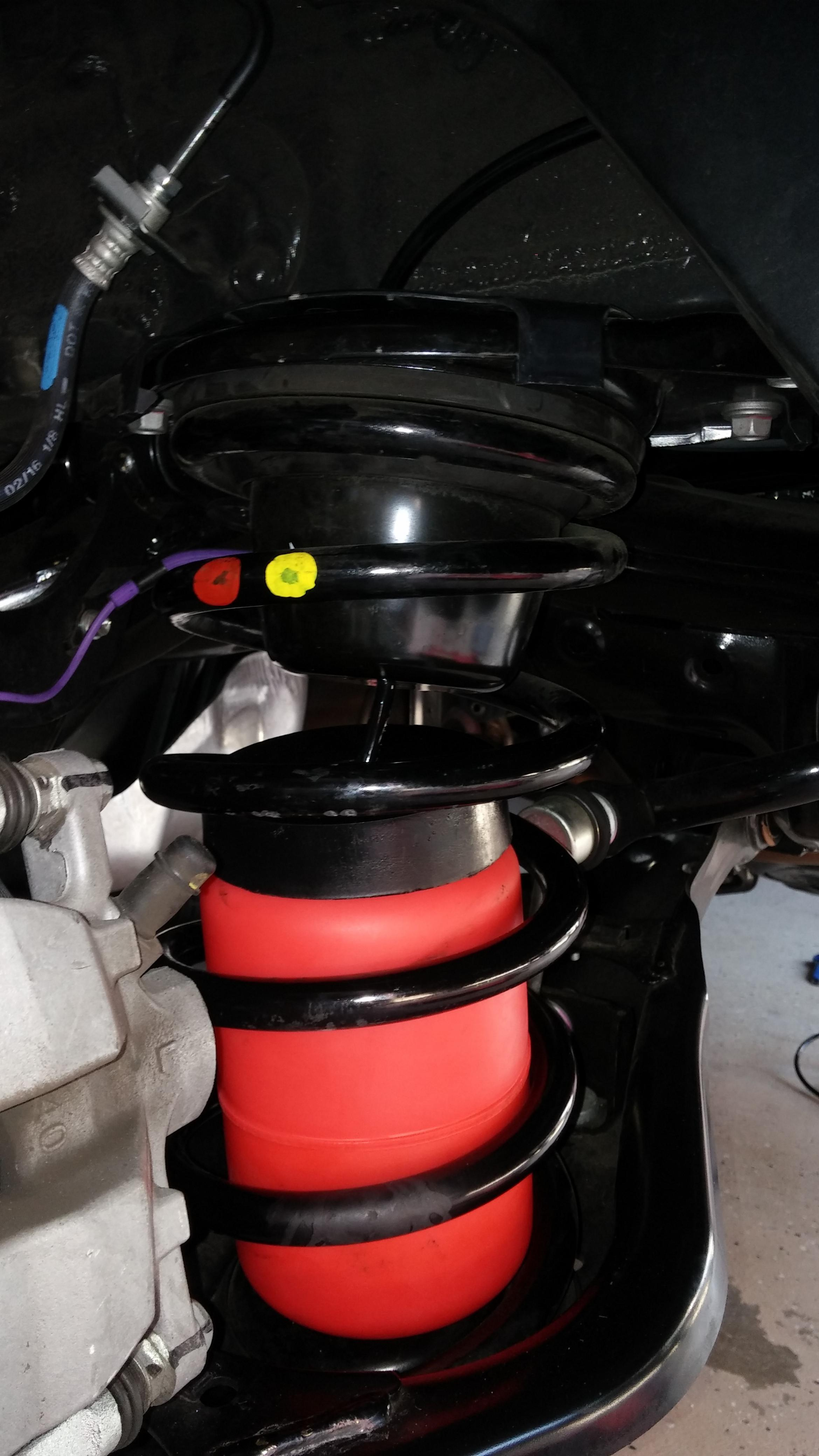 Rear air bag suspension installed - Toyota Nation Forum ...