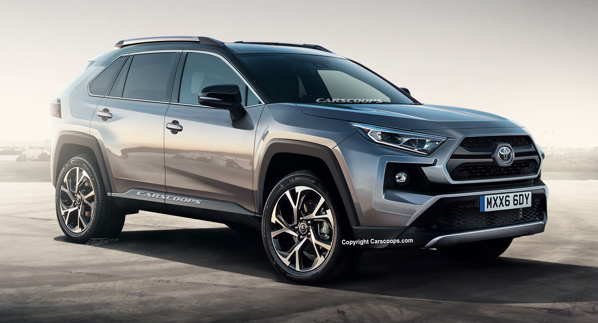 Click Image For Larger Version Name 2019 Toyota Rav4 Carscoops 10