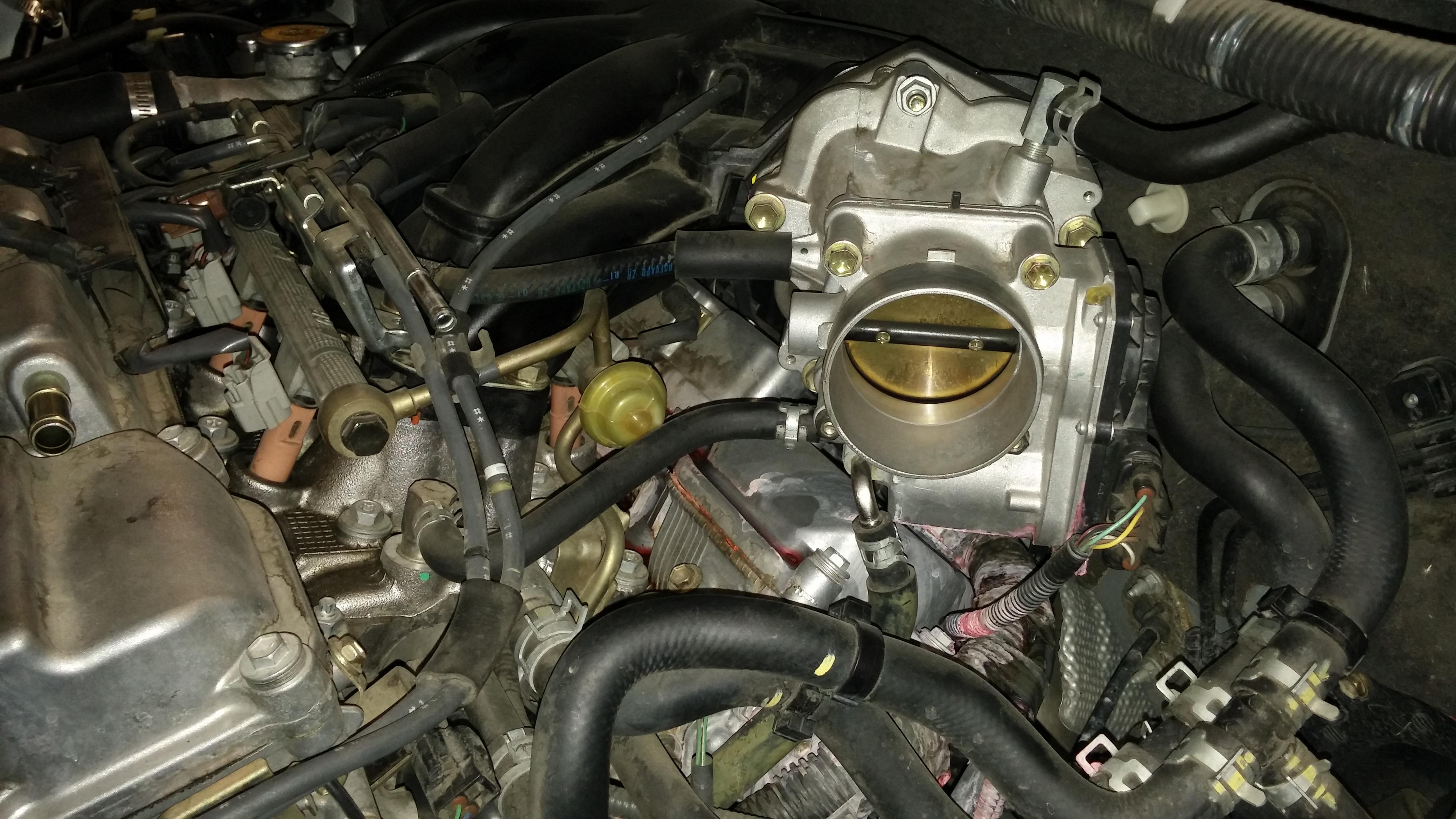 2004 Siena Coolant Leak Pic Included Toyota Nation
