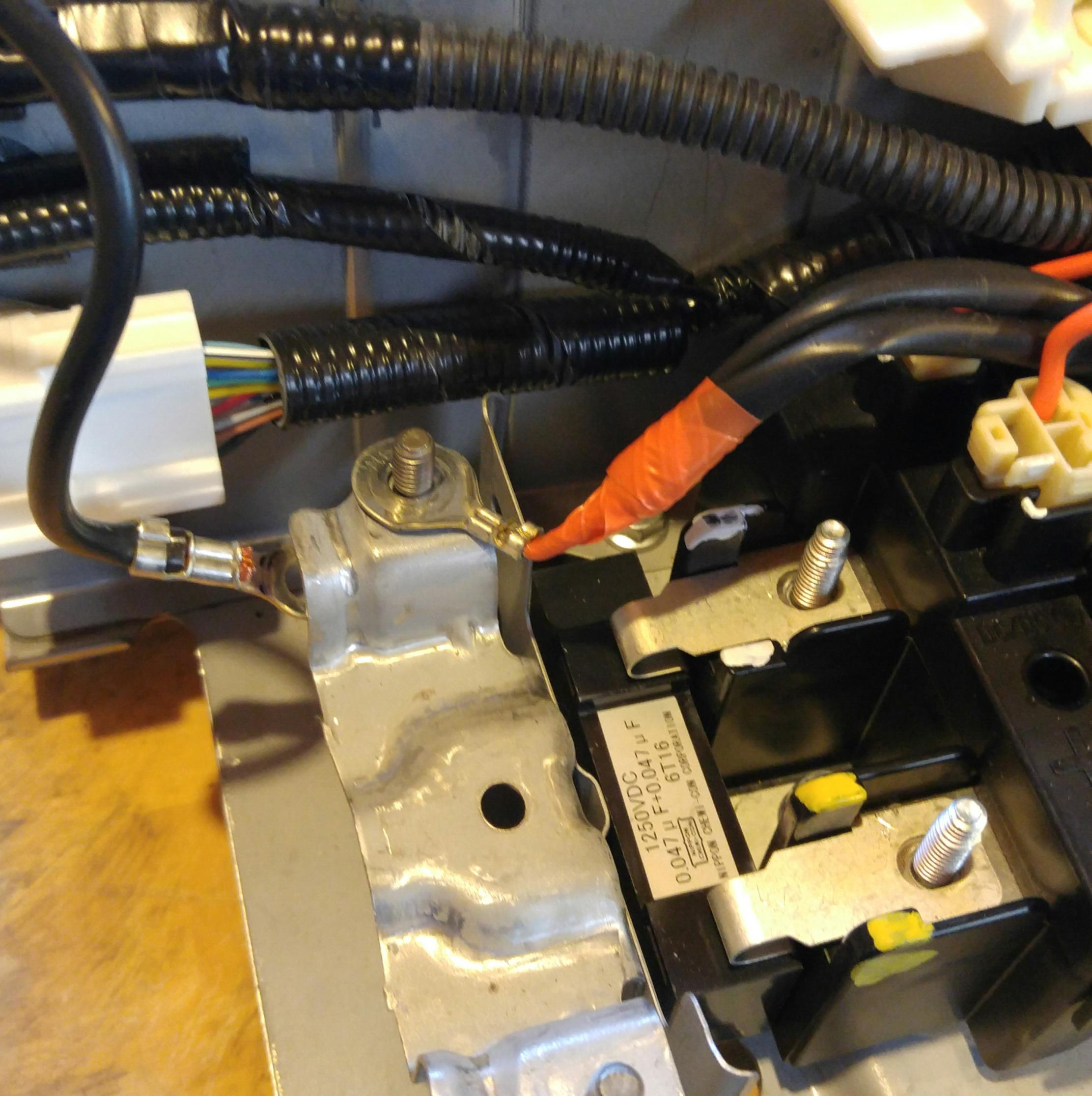Toyota Prius Battery Cell: 2007 Toyota Hybrid Battery Wiring