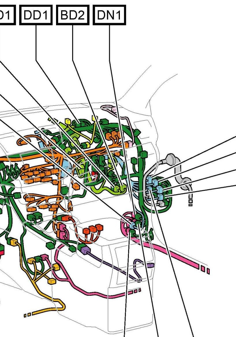 back up or reverse wire location - toyota nation forum ... 2005 highlander wiring diagram