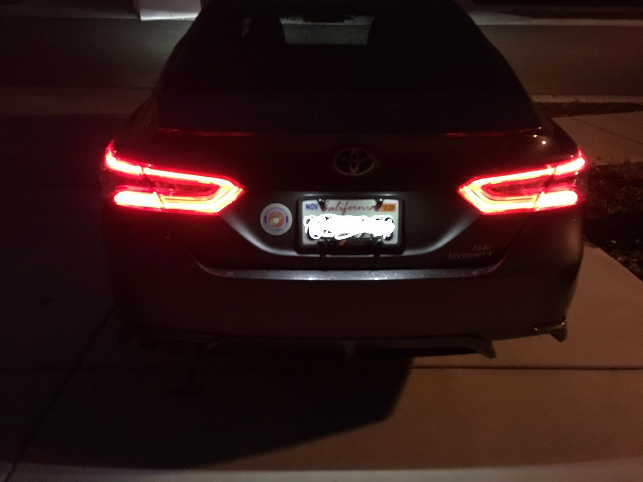 LED Daytime Lights//Turn Signal Kit For 18-up Toyota Camry L LE SE Hybrid SE TRD