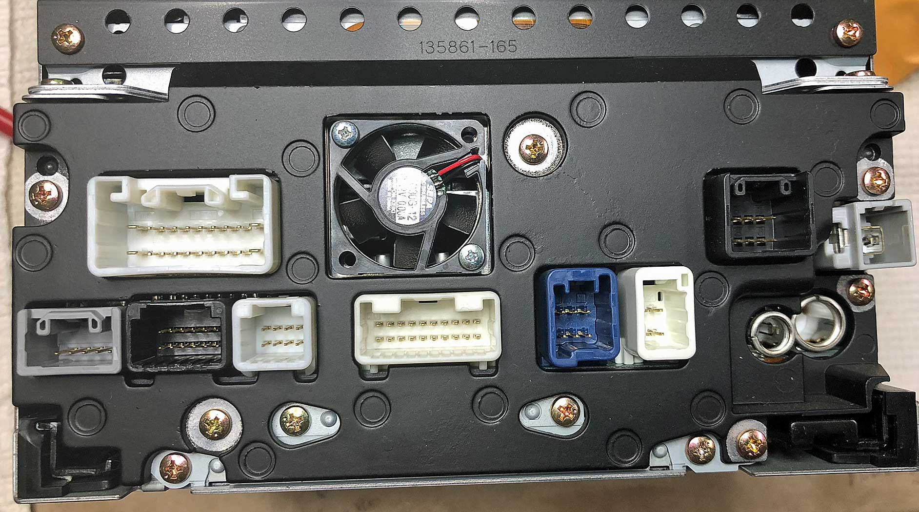 Replacing The Jbl Navigation  Radio In A Limited - Page 2