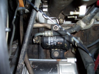 Leaking fuel line going into fuel filter | Toyota Nation ForumToyota Nation