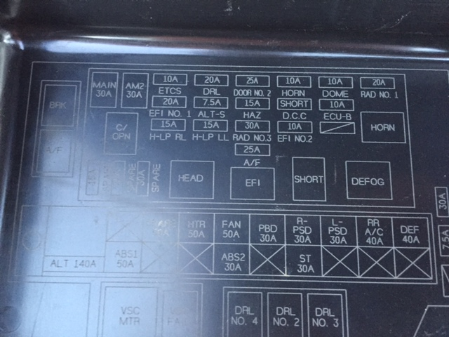 Toyota Lucida Fuse Box Translation : Toyota estima fuse box location wiring diagram