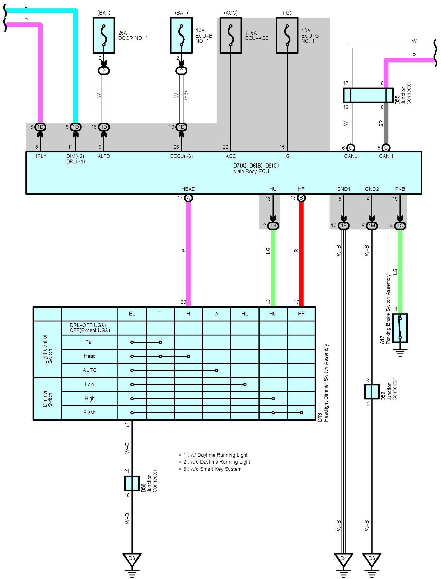 United Pacific Headlights Wiring Diagram from www.toyotanation.com