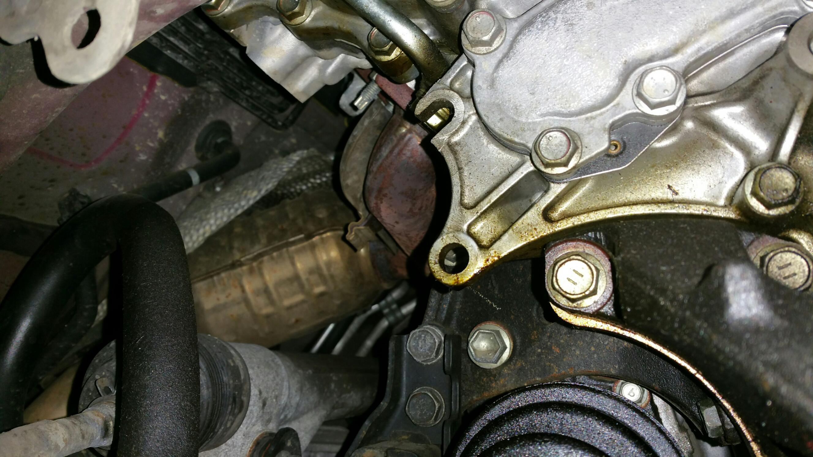 OIL LEAK - from where?????? - Toyota Nation Forum : Toyota Car and