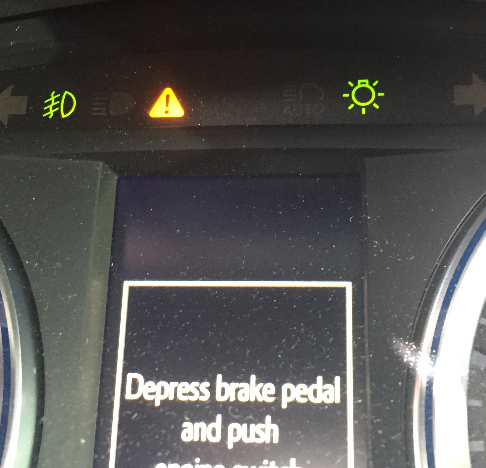 lexus exclamation warning light triangle