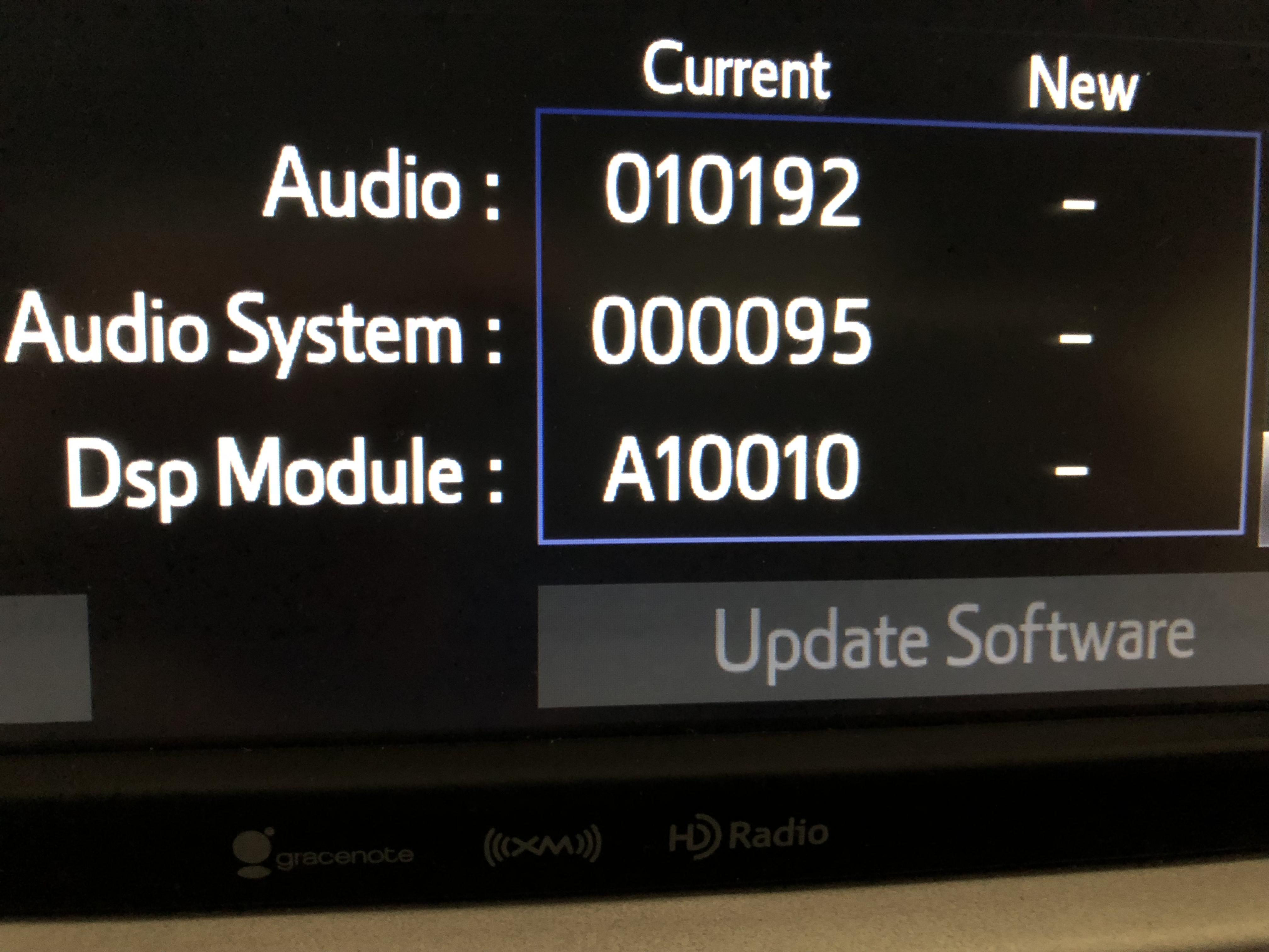 Radio Firmware Update - Toyota Nation Forum : Toyota Car and Truck