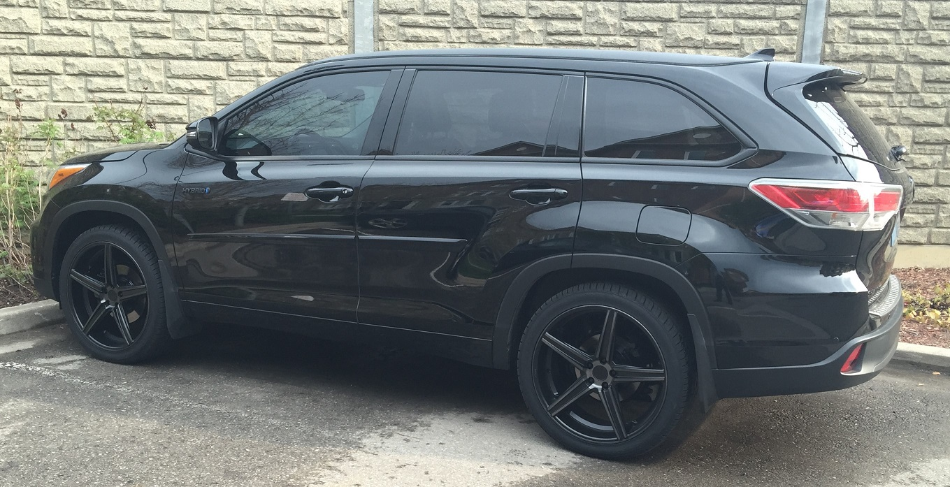 2015 Toyota Highlander Xle >> Finally 22s on my HL! Blacked Out! - Toyota Nation Forum : Toyota Car and Truck Forums