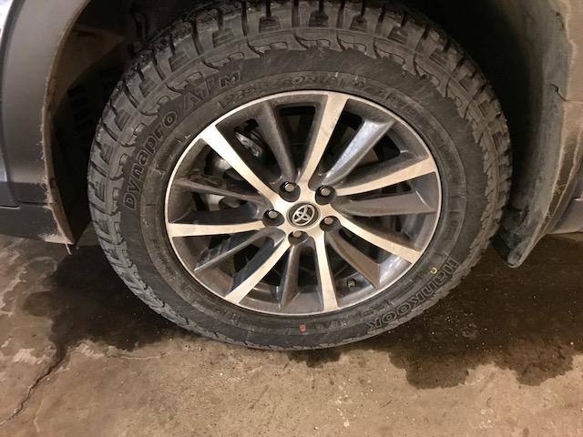 2017 Awd Xle New Tires Bridgestone Ecopia To Hankook