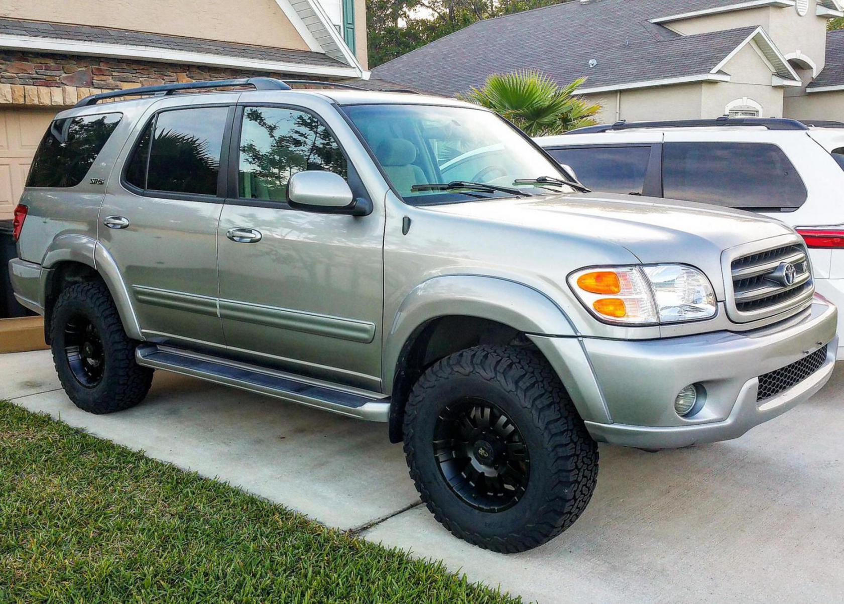2004 sequoia sr5 4x4 lift and tires question toyota nation forum toyota car and truck forums