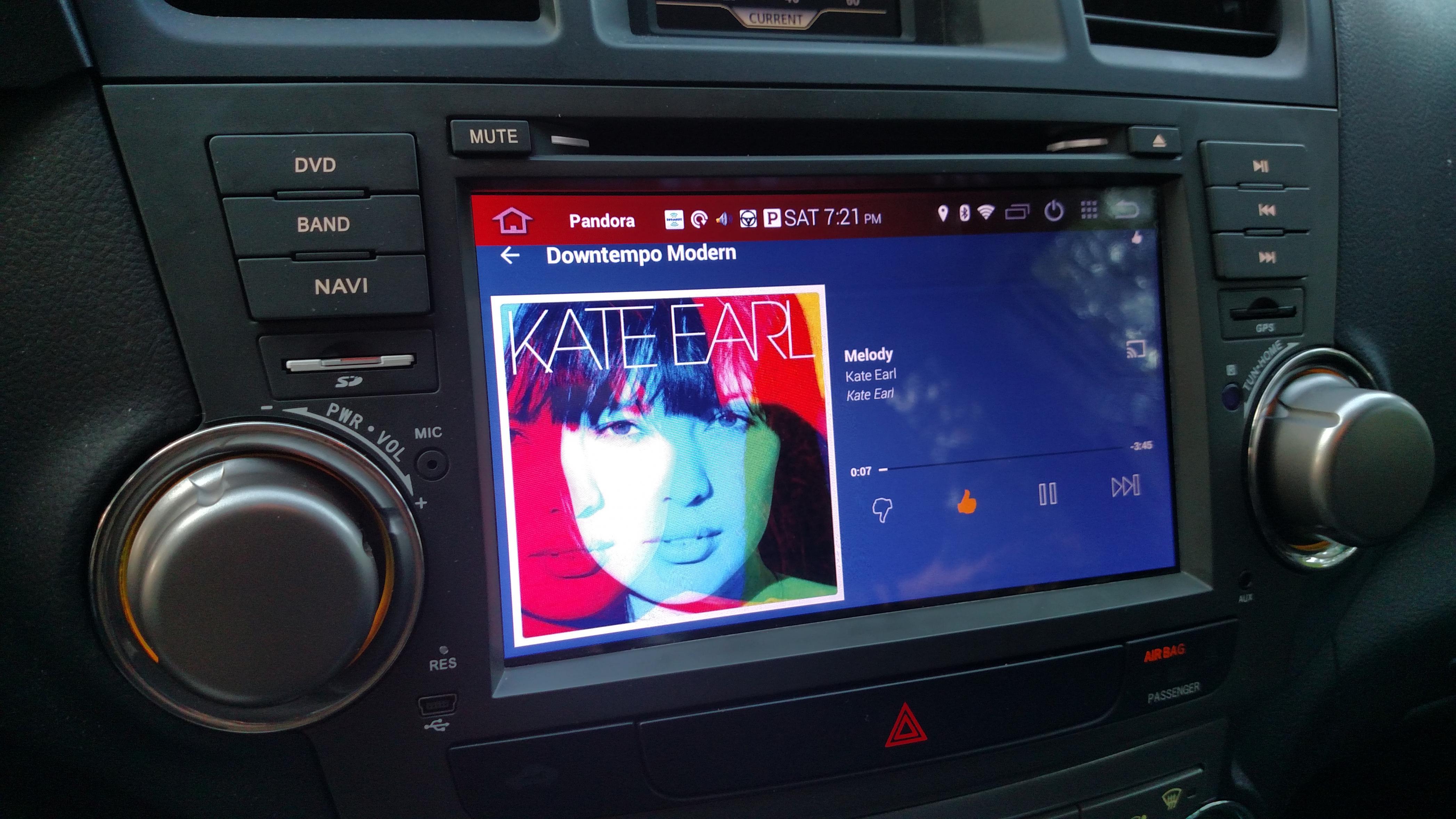 2008 Toyota Highlander For Sale >> OEM fit Android Head Unit Radio DVD Navigation upgrade ...