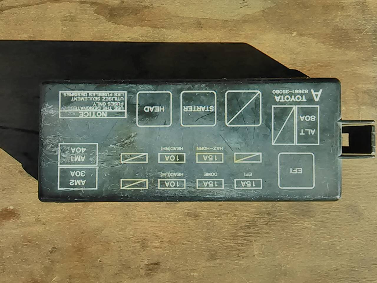 1992 toyota pickup blowing fuses????? - toyota nation ... 1992 toyota camry fuse box diagram wiring schematic #1