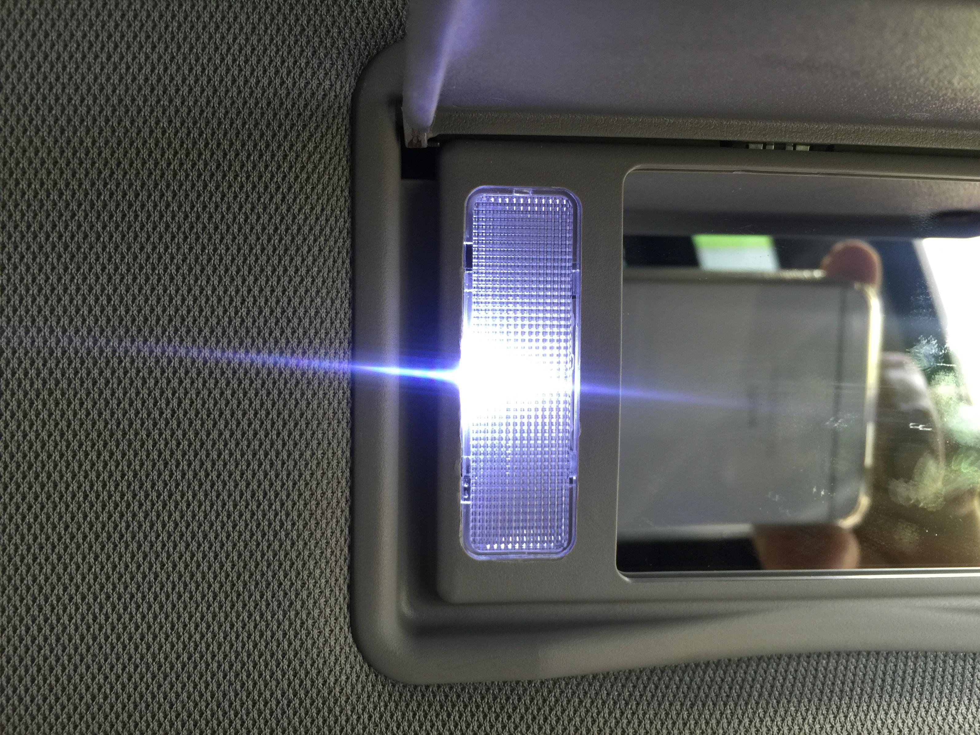 Toyota Camry: Vanity mirrors