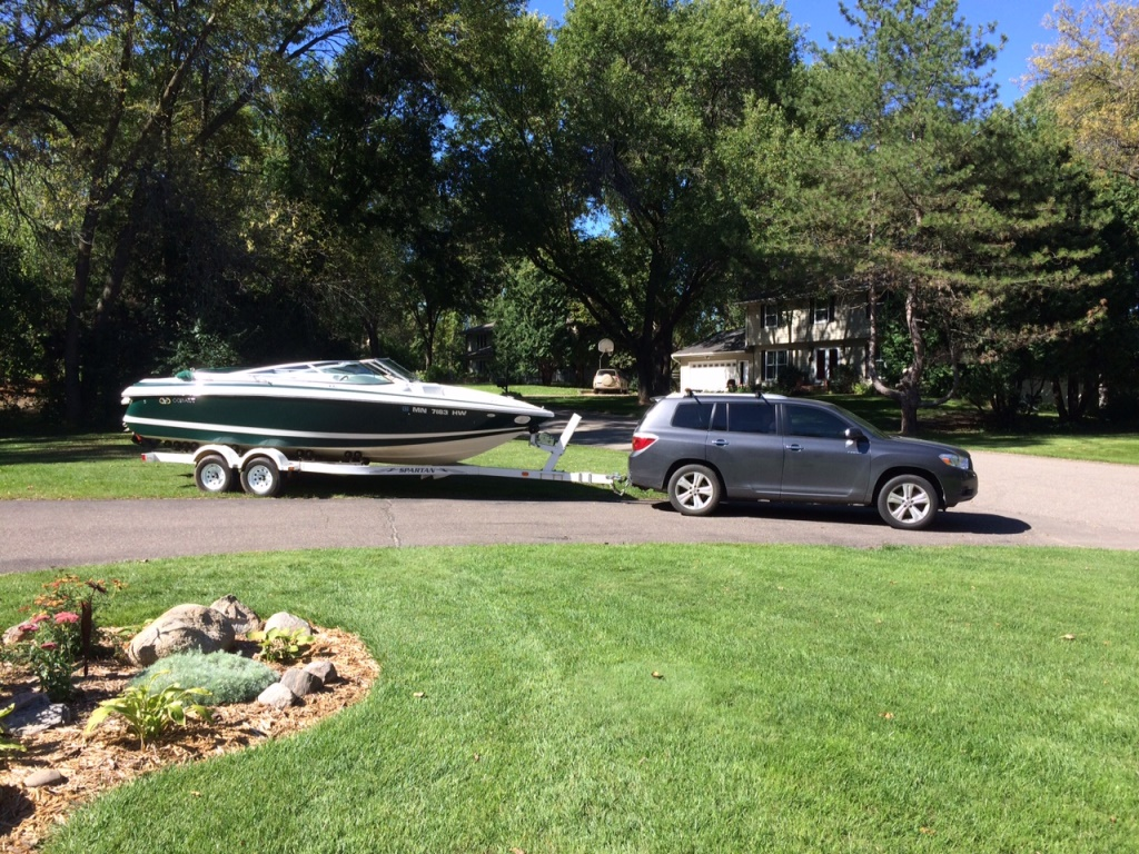awd  boat towing ability   ramp toyota