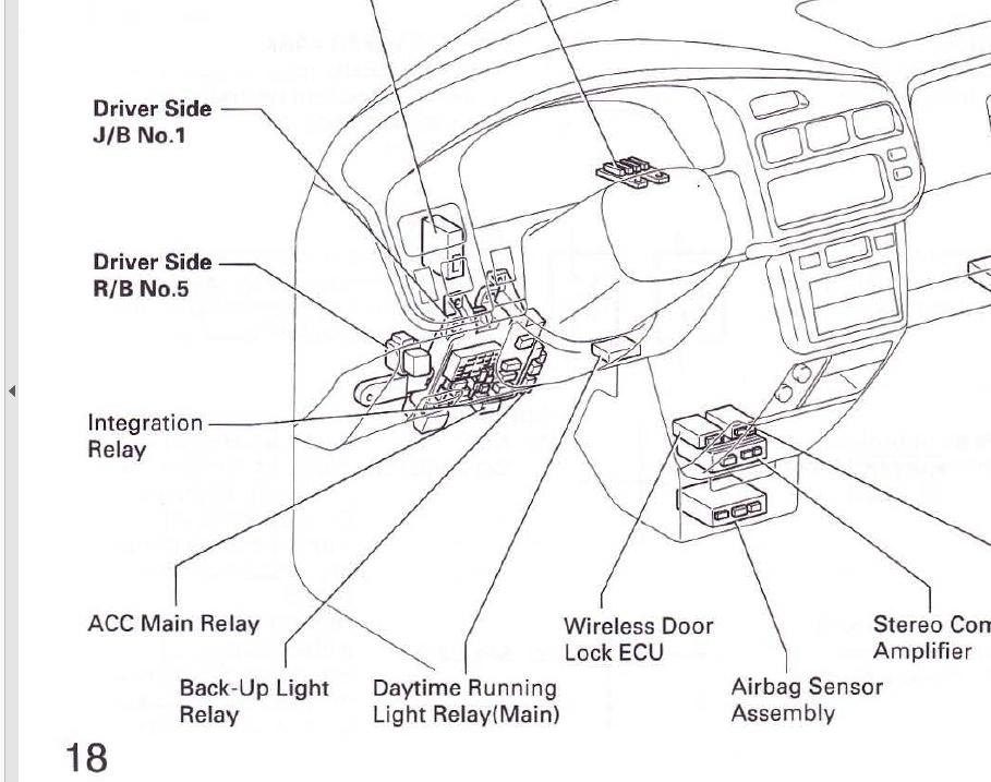 Toyota Sienna Amplifier Location