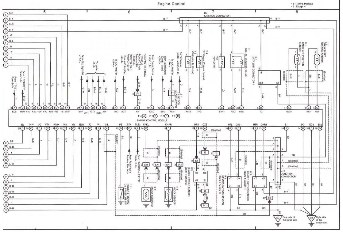 2001 toyota sienna le wiring diagram