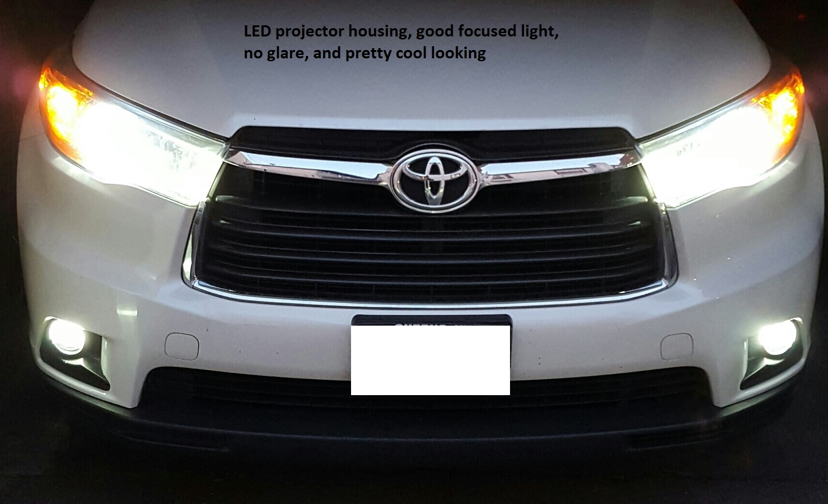foglight install and led upgrade toyota nation forum toyota carclick image for larger version name projector jpg views 809 size 426 7
