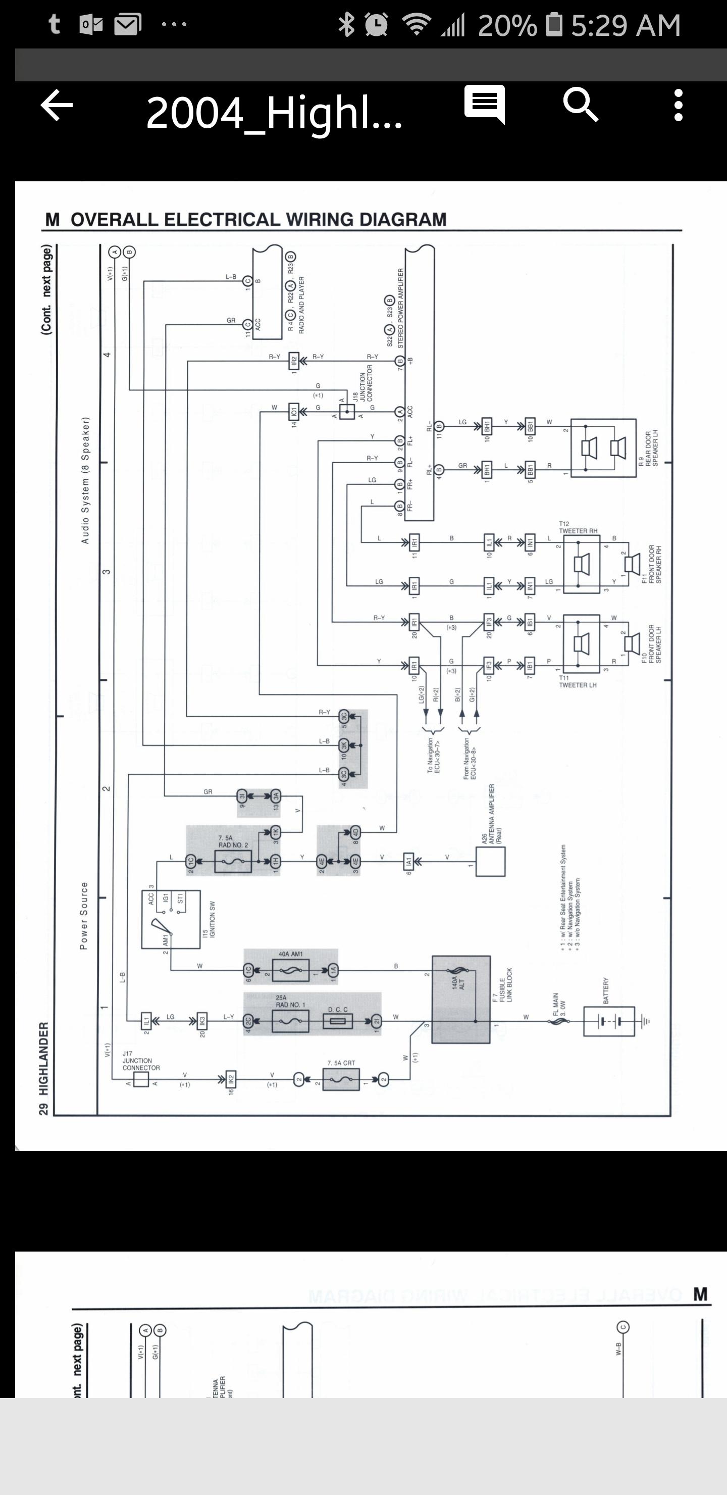 2007 Highlander Wiring Diagrams Diagram Libraries Jbl Kit For Aftermarket Stereo Headunitclick Image Larger Version Name Screenshot 20181019 052946 1540287404014