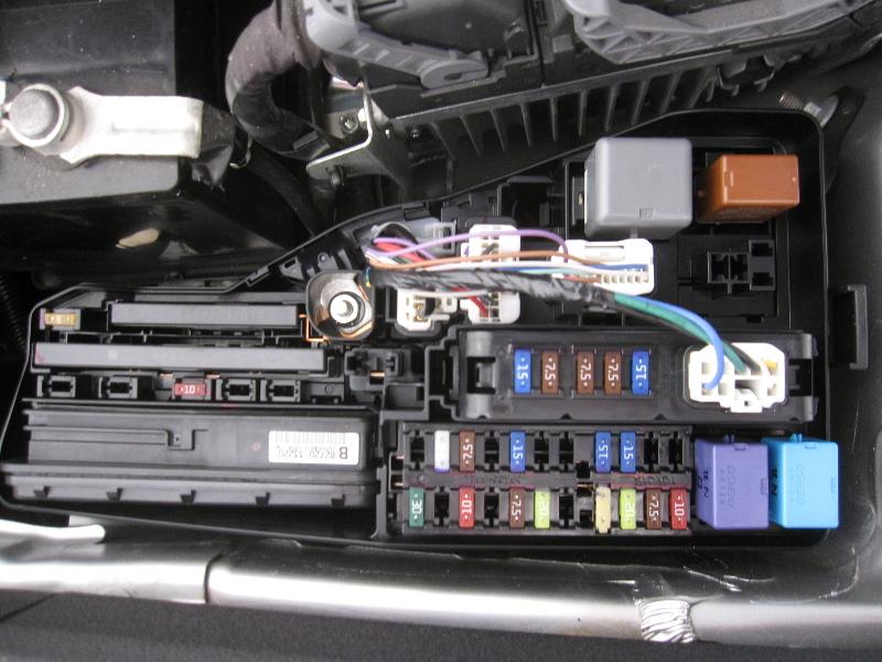 95 Toyotum Camry Fuse Box Diagram