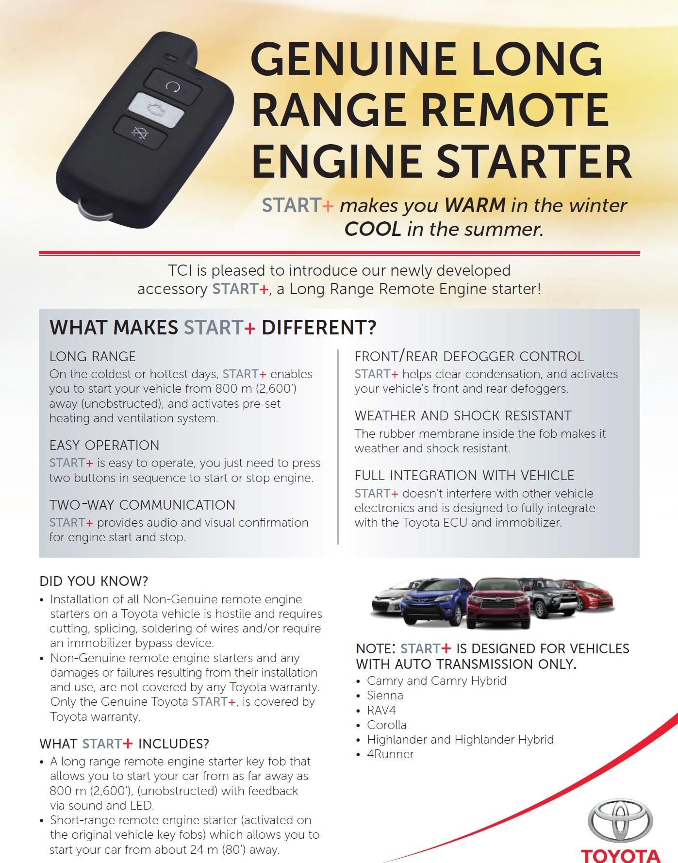 Click Image For Larger Version Name Toyota Remote Engine Starter 2