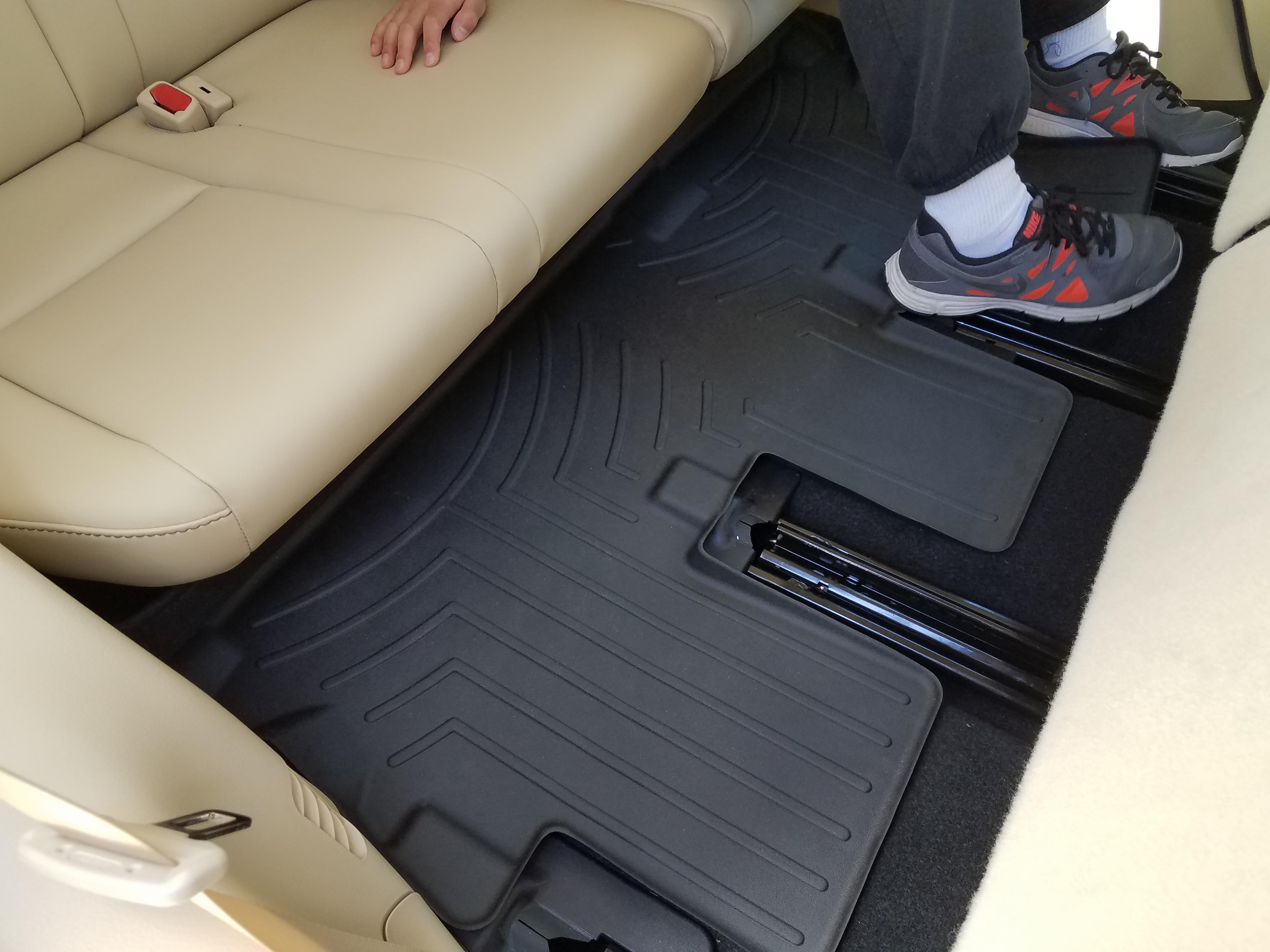 Passenger /& Rear Floor GGBAILEY D51267-S1A-RD-IS Custom Fit Car Mats for 2012 2016 2017 2014 2015 2013 2018 BMW 3 Series Wagon Red Oriental Driver