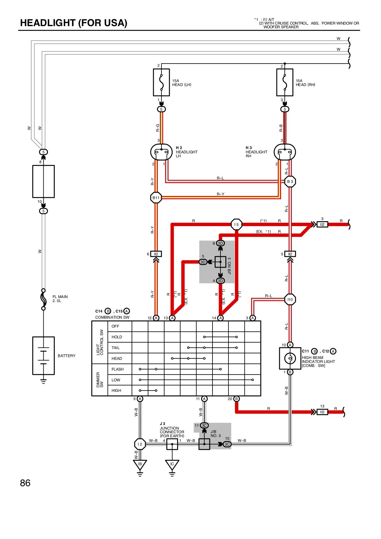 [SCHEMATICS_4ER]  Mk2 headlight problem ? | Toyota Nation Forum | 1992 Toyota Mr2 Wiring Diagram |  | Toyota Nation