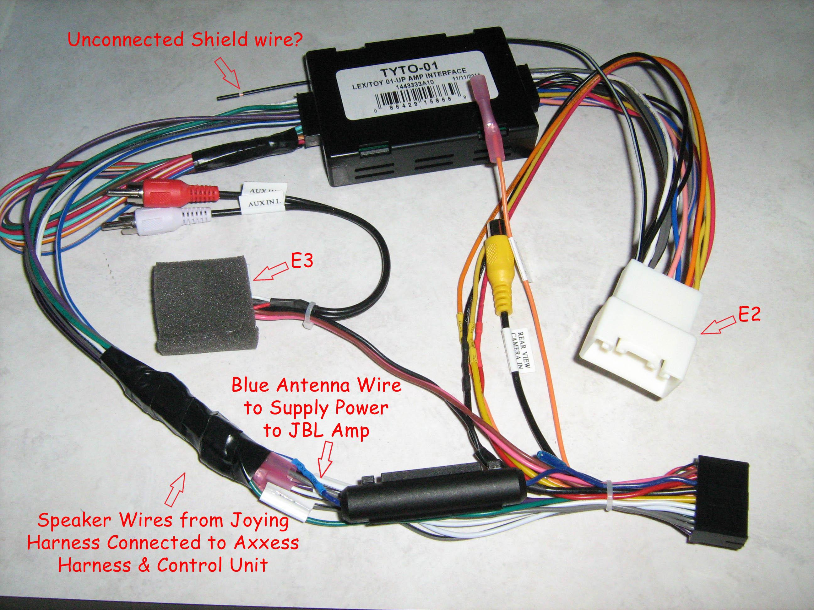 WRG-7916] 2008 Prius Speaker Wiring Harness