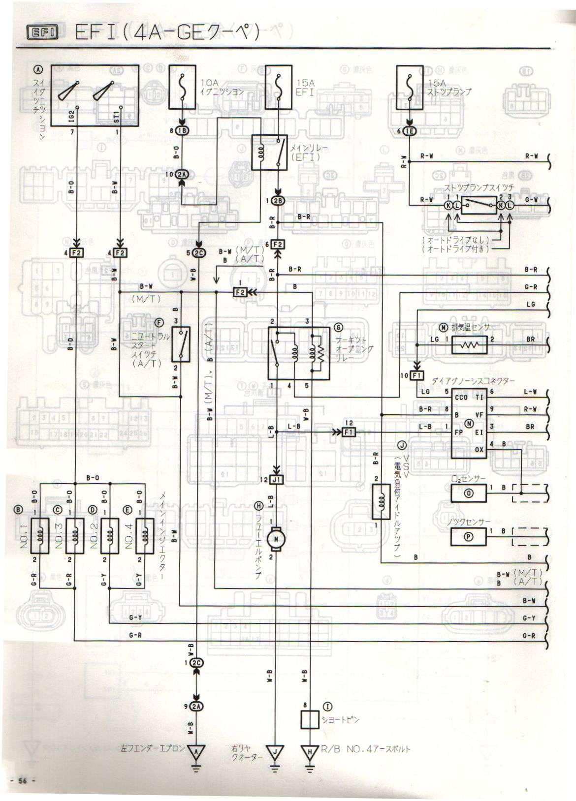 4age 20v blacktop wiring diy