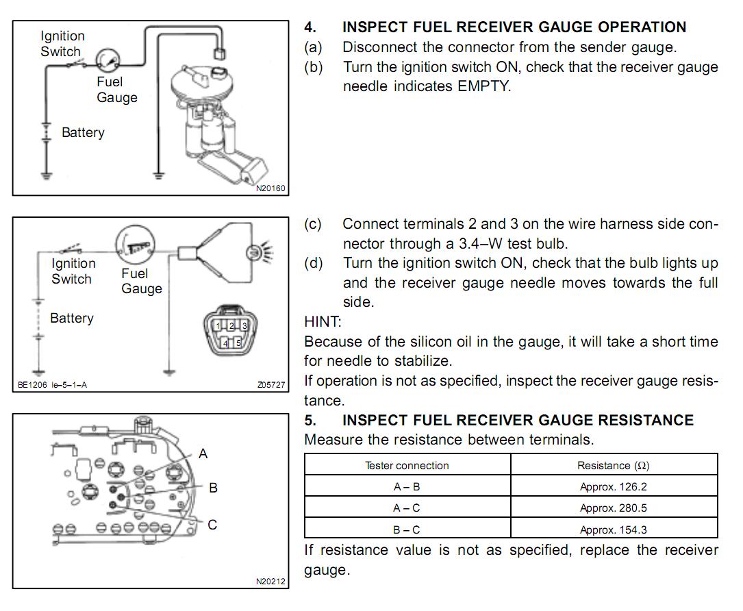 Wiring Diagram For Fuel Gauge