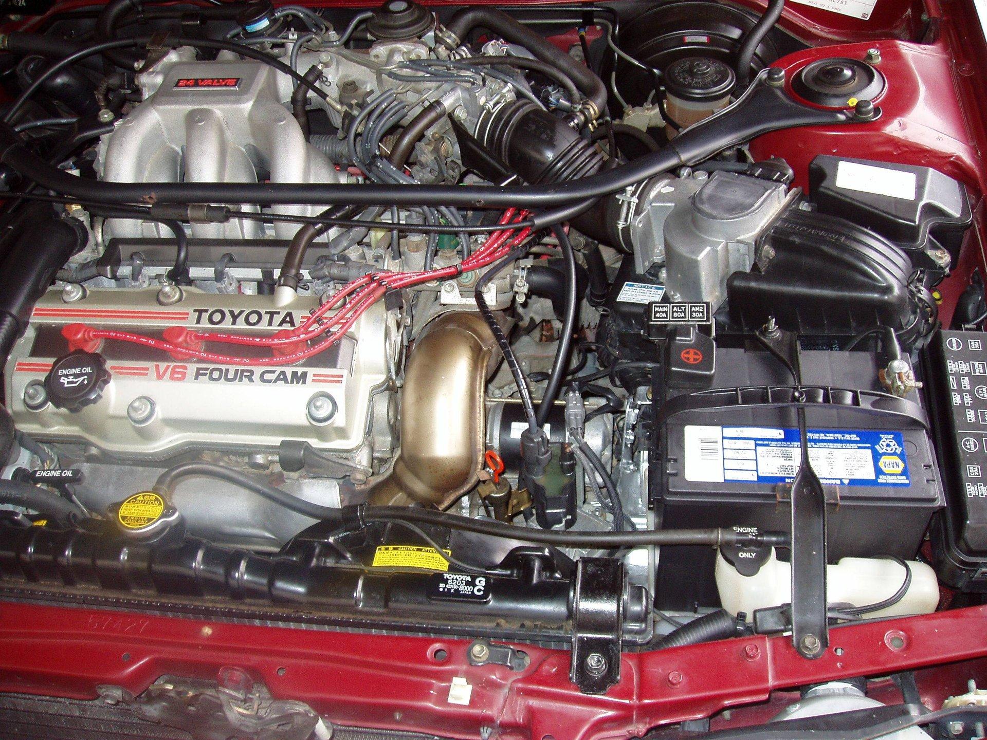 1991 Camry Le V6 Engine Transmission Reinstall