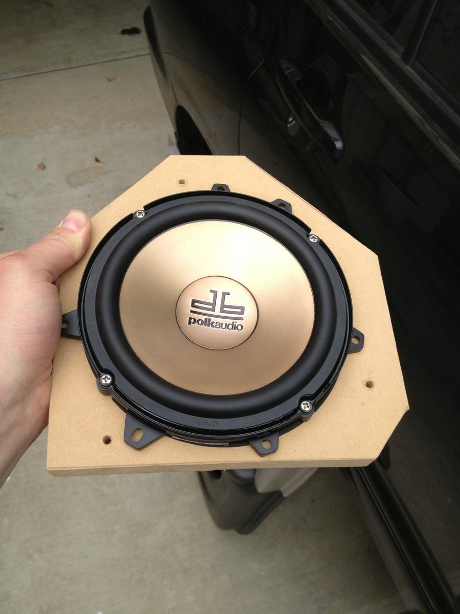 Toyota Highlander Front Speaker Component Installation