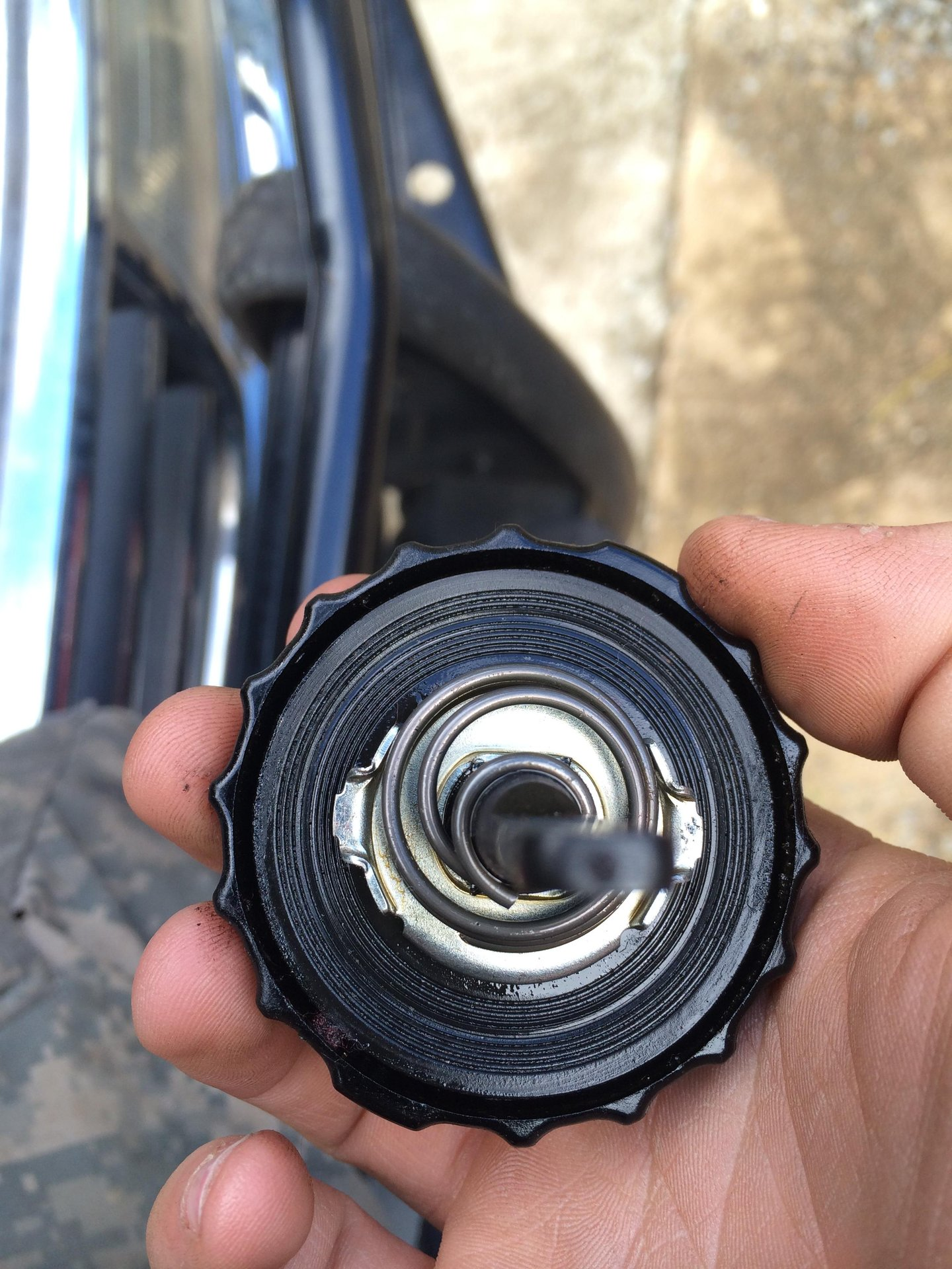 Power Steering Fluid suddenly leaking out of cap | Toyota