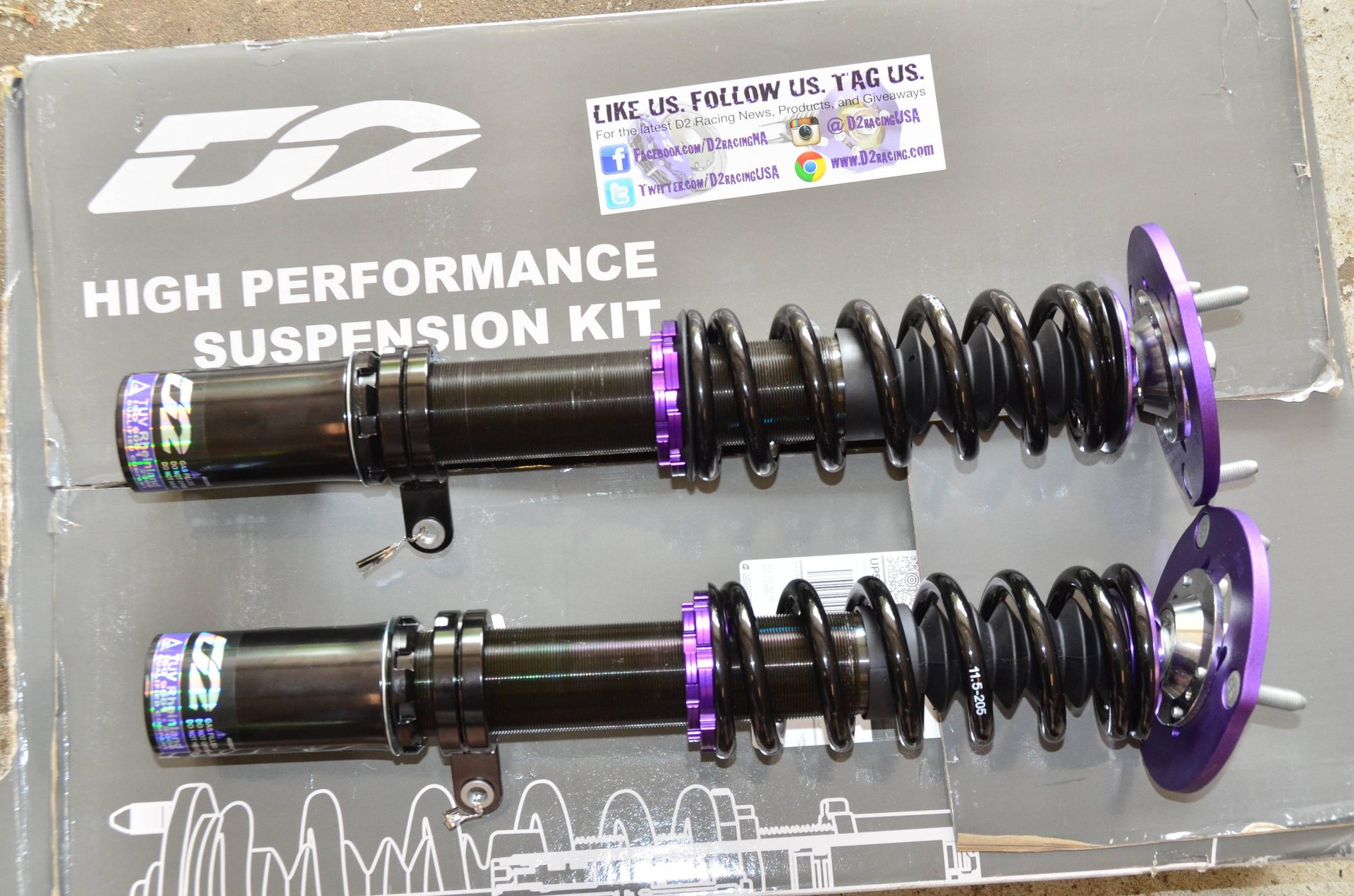 Avalon D2 Street Coilovers   Toyota Nation Forum