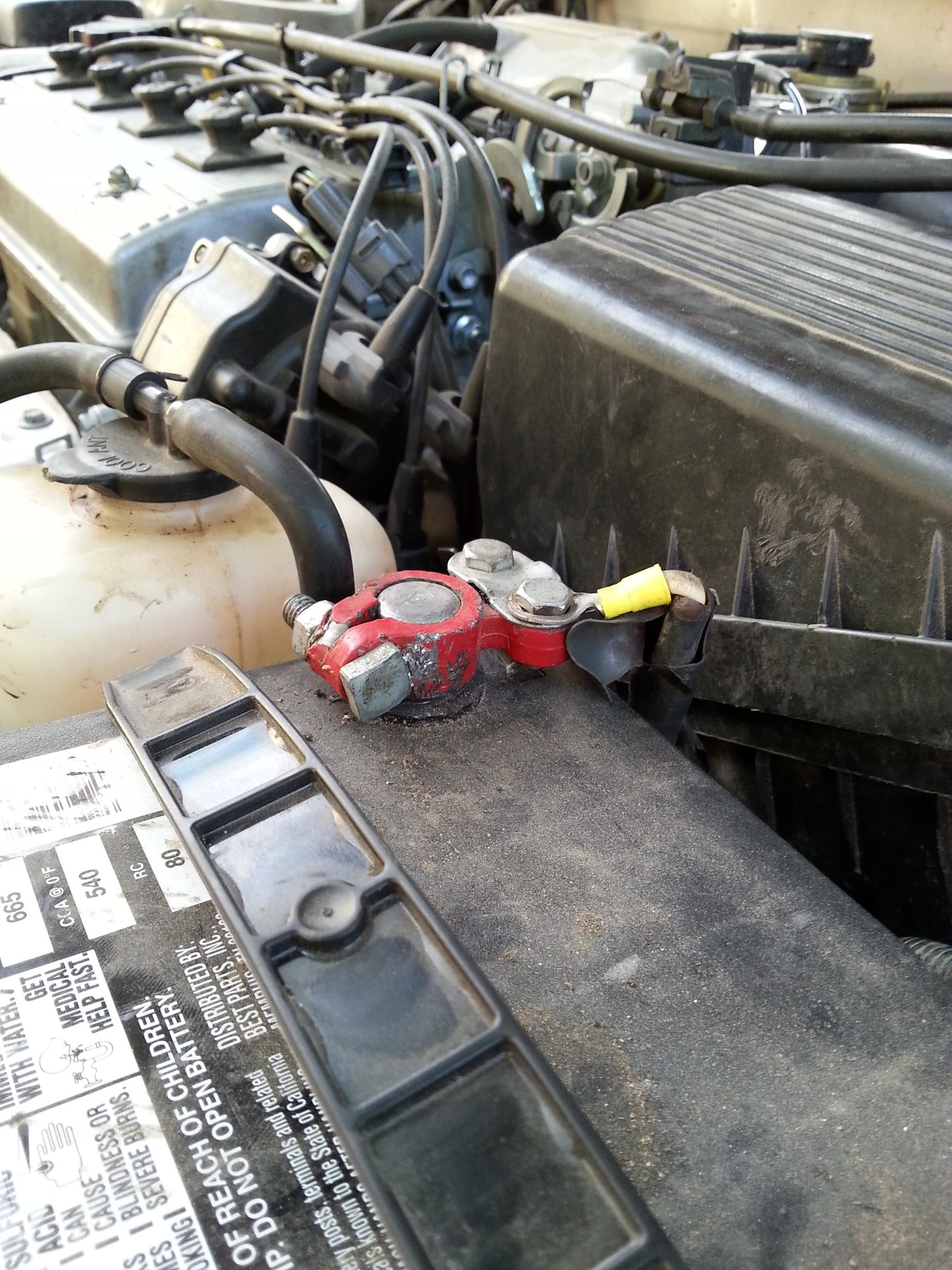 positive battery wire help | Toyota Nation Forum