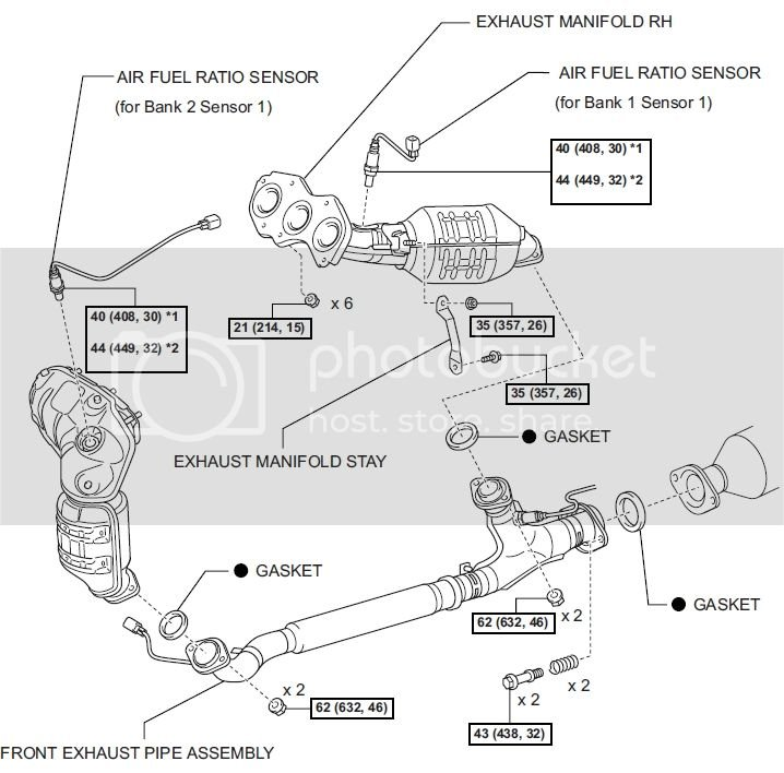 08 Sienna - O2 Sensor Replacement - Codes P0031 & P2195