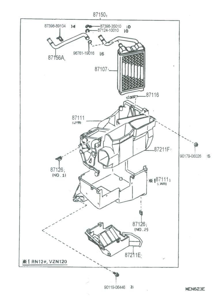 1990 Toyota Pickup Parts