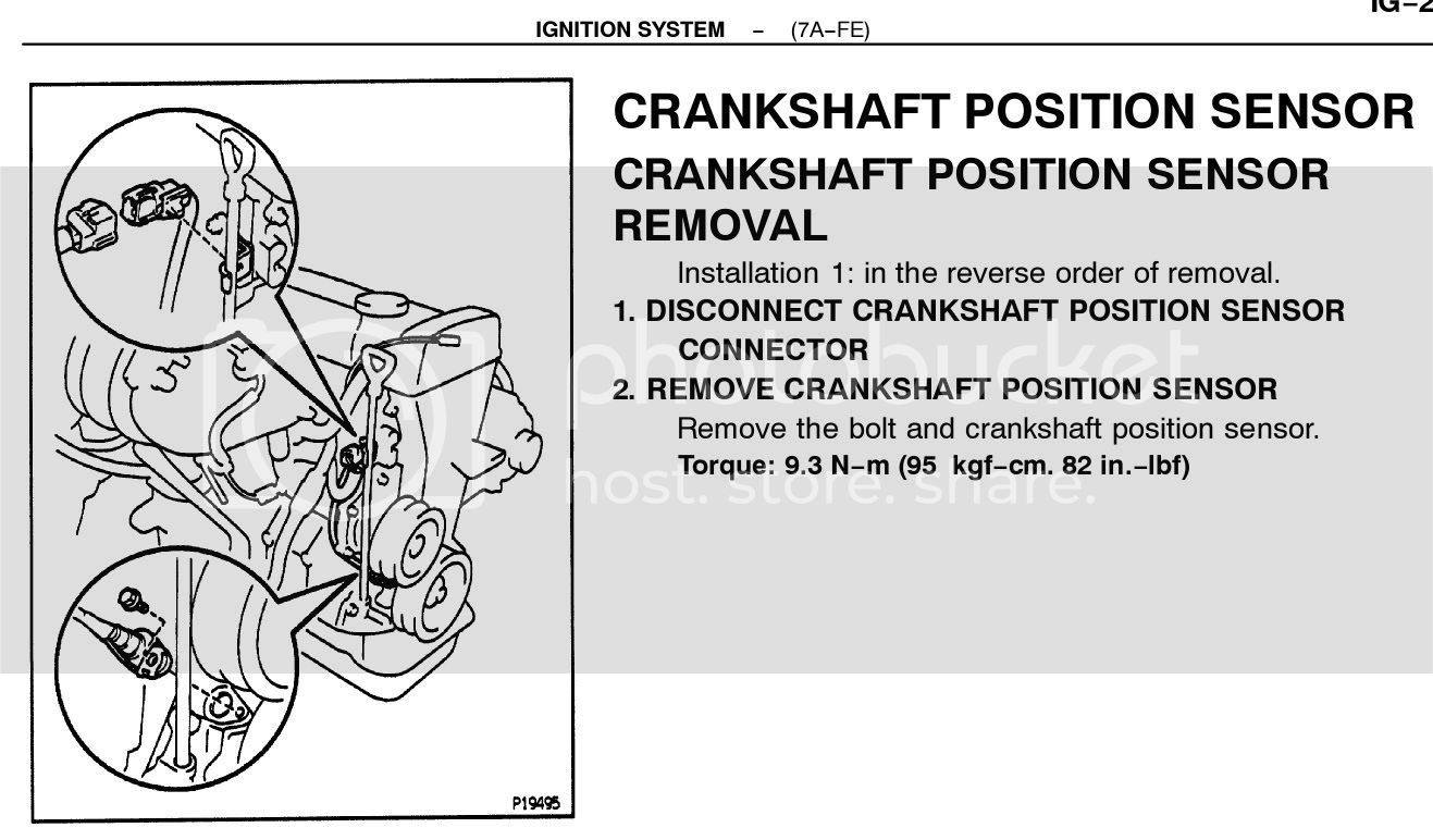 95 corolla Crankcase position sensor | Toyota Nation Forum