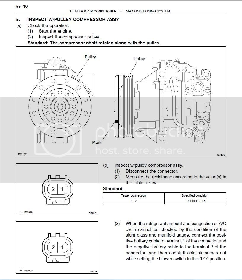 2005 Scion XB A/C Clutch Test | Toyota Nation Forum