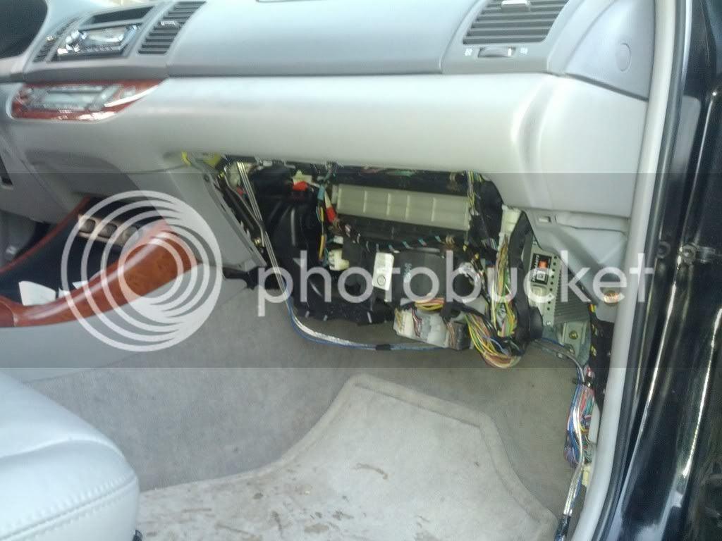 Grinding/clicking under dash - air mix servo   Toyota Nation