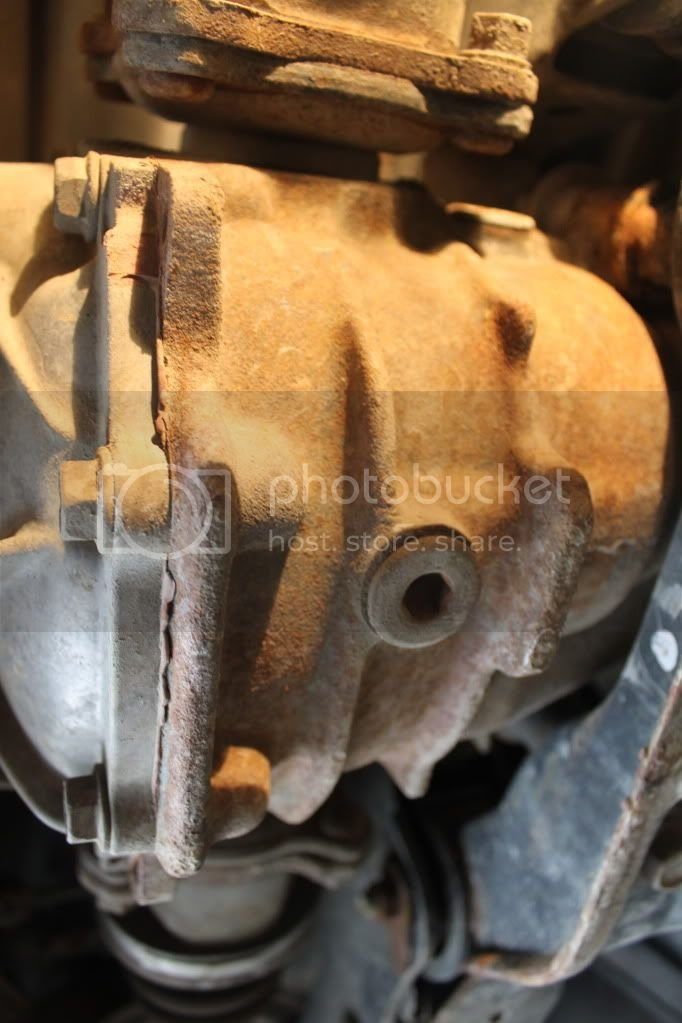 Changing the Rear Differential Oil (2001) | Toyota Nation Forum