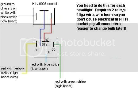 93-97 AE102 JDM H4 Headlight Wiring Diagram: | Toyota Nation ... on