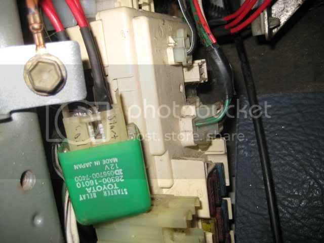 Tired Ignition Switch and Starter Relay Fix   Toyota Nation ... on