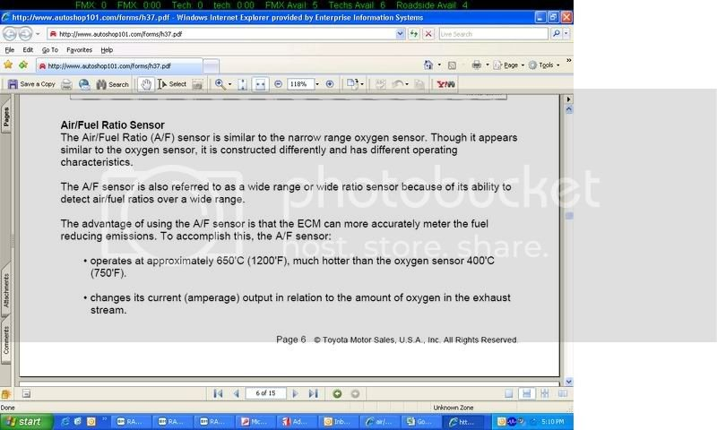 air/fuel sensor replacement | Toyota Nation Forum