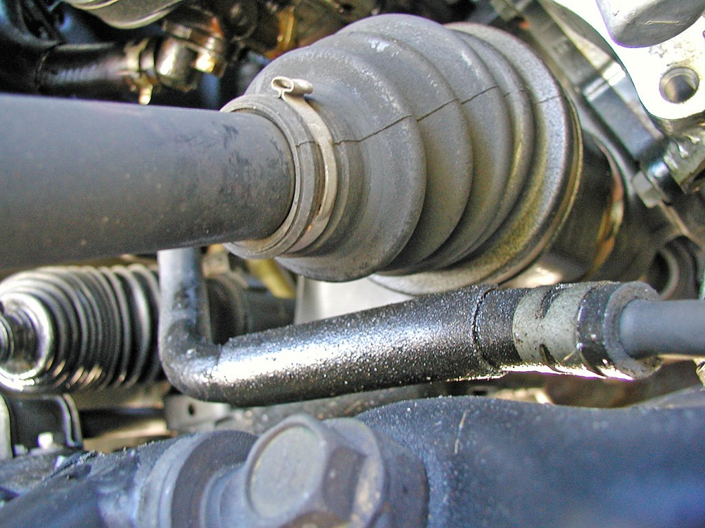 2003 Avalon power steering leak -- can you take a look